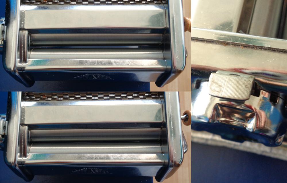Lasagne zur Einführung in die Nudelmaschine – Walzeneinstellungen