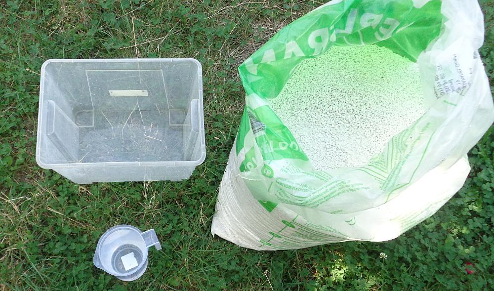 Stecklingsvermehrung in Kisten mit Perliten - Zutaten