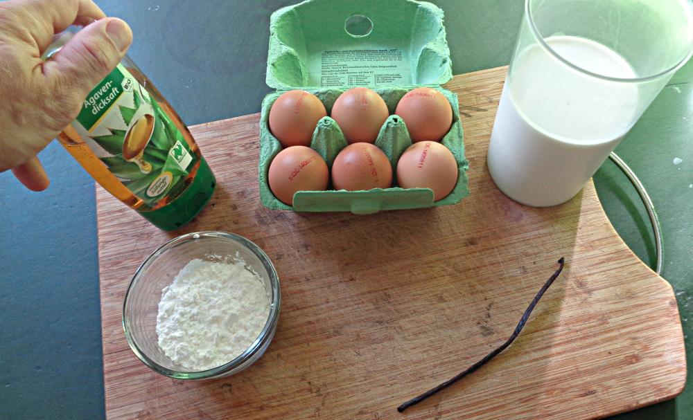 Vanillepudding selbst machen - Zutaten
