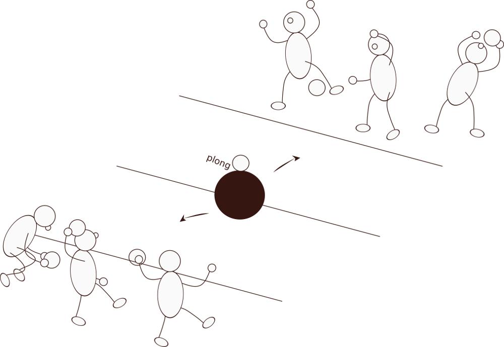 Ball treiben