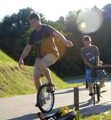 Einführung ins Einradfahren