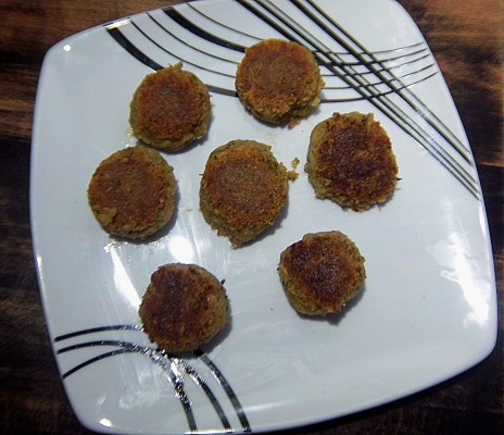 Fertige Falafel