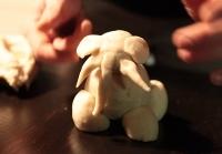 Knete-Elefant
