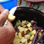 Aus der Gartenküche  – Gemüsetarte mit frischen Zutaten aus eigenem Anbau