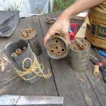 Bauanleitungen und Anwenderhinweise für Insektenhotels