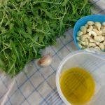 Aus der Pestowerkstatt – Rucola-Cashew-Pesto