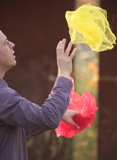 Zirkusanleitungen für Einsteiger - Einführung ins Jonglieren