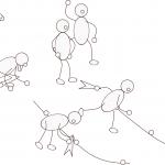Kleine Spiele - Knotenstaffel