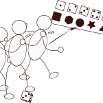 Kleine Spiele - Würfelstaffel